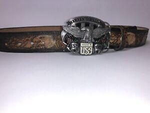 harley davidson belt leather Vintage
