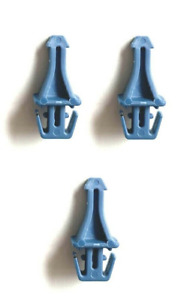 3 x GENUINE Brabantia Replaceable Striker Catch for Touch Bin Lid Unit blue