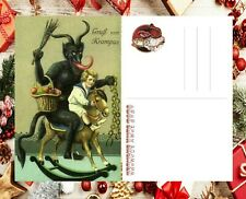 KRAMPUS X-MAS 2020 Deluxe Postcard Reproduction - SAVE up to 20% ON SALE NOW #9