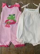 Girls Boutique Romper Bubble Pink Lot 24 Months