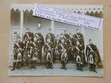 MILITARY PHOTOGRAPH - GORDON HIGHLANDERS - REGIMENTAL PIPERS c1898 - m1149