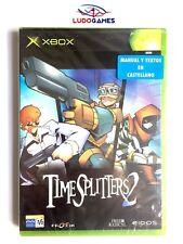 Time Splitters 2 Xbox Nuevo Precintado Retro Sealed Brand New PALSPA
