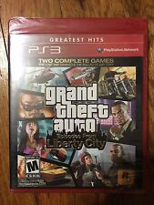 Grand Theft Auto: Episodes From Liberty City (Sony PlayStation 3, 2010) GH New