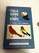 1947 Peterson Field Guide To The Birds 1000 Illustrations 500 In Color HC DJ