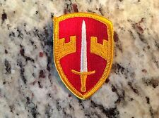Vietnam War US ARMY Military Assistance Command MACV colored merrowed edge Patch
