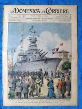 La Domenica del Corriere 22 aprile 1934 Milano - Tafiord Norvegia - Sabaudia