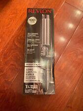 Revlon Perfect Heat 400 Degrees F Long Lasting Curls 1 1/4 Brush Barrel