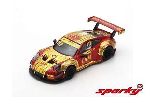 1/64 Sparky Porsche 911 GT3 R N°912 Macau 2018 Earl Bamber Livraison Domicile