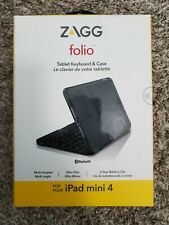 Zagg Folio table keyboard case for Ipad Mini 4