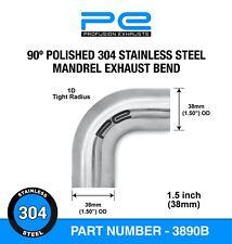 1.5 inch 304 Stainless Steel Exhaust Mandrel Bend 90 Degree Elbow Mandrel Bent