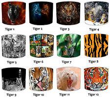 Lampshades Ideal To Match Tiger Wallpaper Tiger Cushions Tiger Duvets & Wall Art