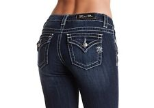 Miss Me Flap Over Pocket Bootcut Jeans Women's Size 33 NWT