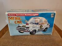 VINTAGE POLICE PATROL CAR BATTERY OPERATED MYSTERY ACTON KMART TOY COLLECTABLE
