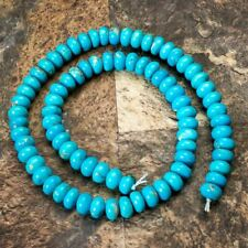 Sleeping Beauty Turquoise- 10mm Rondels SBR10a1