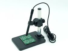 Continuous zoom 1 to 600X USB Digital Microscope + Adjustable Stand for Jewelry