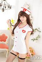 Sexy Costumes Cosplay Nurse Uniform Lingerie Fancy Dress Set Outfit