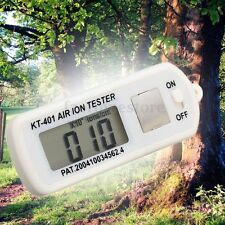 Air Aeroanion Tester Air Ion Tester Meter Counter Negative Ions With Peak Hold