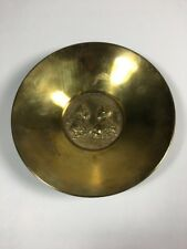 Carl Auböck Franciscus Maria Theresia Coin Brass Bowl, Austria, 1950s