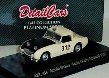 AUSTIN HEALEY SPRITE 1 RALLY ACROPOLIS 1961 DETAIL CARS ART 418  1/43