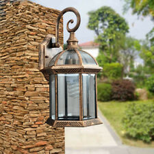 Glass Wall lights Outdoor Wall Lamp Garden Lighting Hallway Vintage Wall Sconce