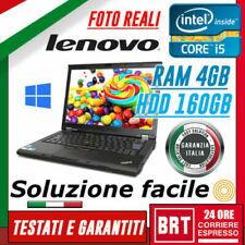 Notebook e computer portatili Lenovo ThinkPad Lenovo ThinkPad T410