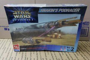 1/32 AMT ERTL Star Wars Episode I Anakins Podracer Plastic Model Kit NEW 30122