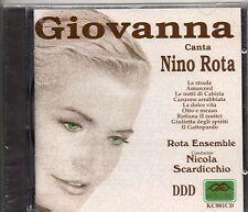 GIOVANNA canta NINO ROTA raro CD fuorti catalogo 1997 SIGILLATO