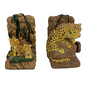 Cheetah Musical Bookends Ceramic What The World Need Now Is Love VIDEO