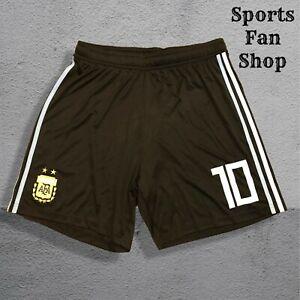 5+/5 Argentina #10 Messi 2018/2019 away Size L Adidas shorts football soccer