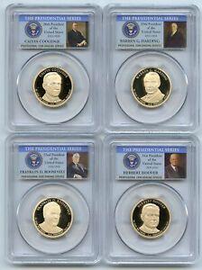 2014 S Presidential Dollar Set PCGS PR69DCAM
