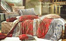 Pictorial Three-Piece 100% Cotton Quilt Covers