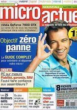 Micro Actuel   N°5   Aout 2005 : Objectif zero pannes