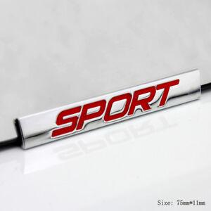 E830 Sport Emblème autocollants voiture badge Car Emblem auto Rouge