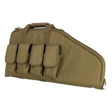 """NcStar Vism CVCP2961T TAN 28"""" Padded Lockable Subgun Rifle Gun Case Mag Pouch"""