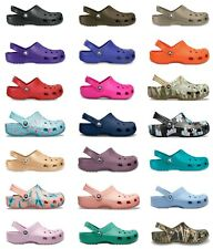 Crocs Adults Mens Womens Classic Cayman Clogs New Colours & Sizing For 2020