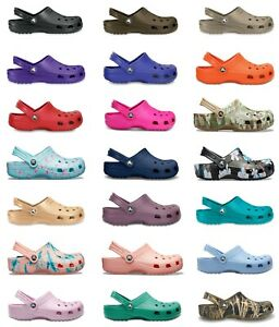 Crocs Adults Mens Womens Classic Cayman Clogs New Colours & Sizing For 2021