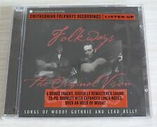 CD ALBUM FOLKWAYS : THE ORIGINAL VISION - BELLY LEAD NEUF SOUS CELLO 26 TITRES