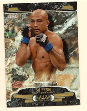 BJ PENN 2017 TOPPS UFC CHROME UFC TIER 1 REFRACTOR /99