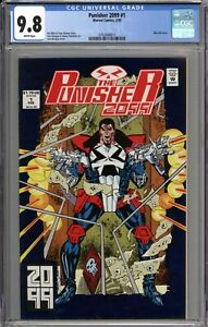 Punisher 2099 #1 CGC 9.8 NM/MT WHITE PAGES