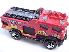 RED. 2012 Blaze Blitzer Fire Truck. 2015 Matchbox Fire. CJM04. Loose, fresh.