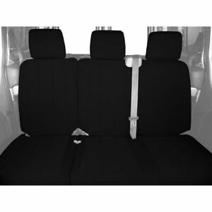 Caltrend Neoprene Rear Custom Seat Cover for Ford 2013-2014 F-150 - FD414