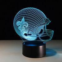 New Orleans Saints NO NOLA Drew Brees Collectible NFL Superbowl Light Lamp