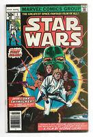 Star Wars # 1 Marvel Comics 1977 Howard Chaykin art/ w/UPC code, squarebox price