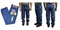 Mens Heavy Duty Regular Fit Denim Jeans Waist Size 28 48 Leg 27 29 31 33