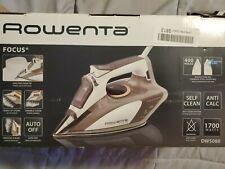 Rowenta DW5080 Focus 1700-Watt Micro Steam Iron Stainless Steel Soleplate