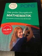 Das große Übungsbuch Mathematik von PONS mit Lösungen 5-10 Klasse