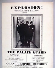 The Palace Guard PRINT AD - 1965 ~~ Orange-Empire Records