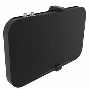New - Wall mount for the main Sky Q 1TB/2TB TV box, Black wall bracket w/fixings