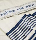 Tallit Talit Kosher Mehadrin Mix Wool Acrilan Prayer Shawl Talis OR Talitania