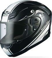 Kabuto FF-5V Street Full Face Motorcycle Helmet Flat Black Works SMALL